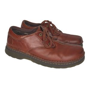 Dr. Martens Nevin Brown Leather Lace Up Shoes